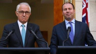 Prime Minister Malcolm Turnbull and Energy Minister Josh Frydenberg.