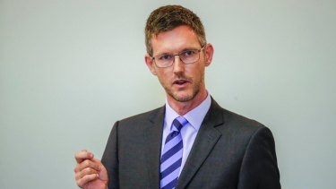 Energy Minister Mark Bailey said he deleted his private email address because he had no control over who emailed him.