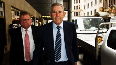 John Kinghorn is charged with one count each of dishonestly influencing a commonwealth public official and defrauding the commonwealth.