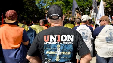 Hundreds showed their support for victims of black lung disease.
