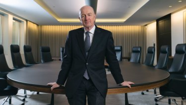"""Former RBA governor Glenn Stevens last year said his """"main advice"""" for his replacement Philip Lowe would be """"to grow a thick skin""""."""