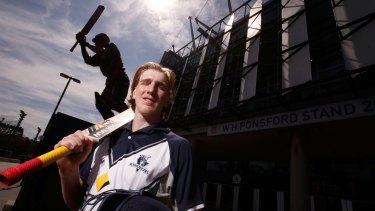 Bushranger Will Sutherland chose a career in cricket over football.