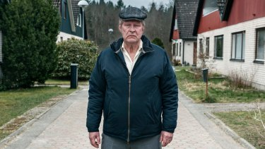 Rolf Lassgard in <i>A Man Called Ove</i>.