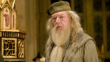 Rowling argued Dumbledore (played by Michael Gambon in the film adaptation of the Harry Potter books) would have supported an open dialogue.