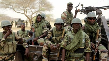 Nigerian special forces prepare to fight Boko Haram in Diffa in March.