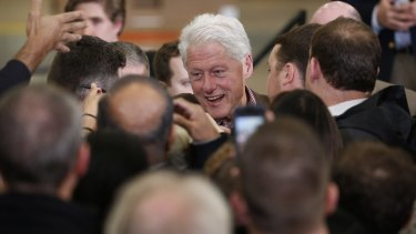 """Bill Clinton: """"A woman dogged by as many accusations of philandering as he was would never have won the White House."""""""