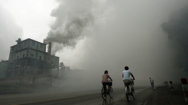 Air pollution has become a huge issue in China's major cities.
