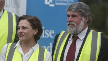 Deputy Premier Jackie Trad's new reforms would affect local government candidates, including Moreton Bay mayor Allan Sutherland.