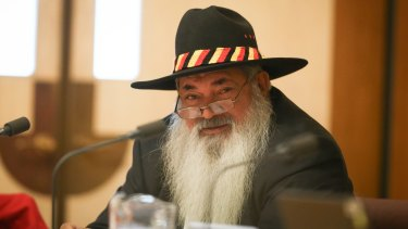 Senator Pat Dodson targeted Indigenous Affairs Minister Nigel Scullion.