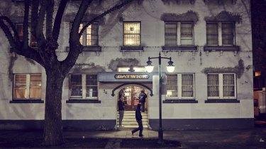 The Gatwick Private Hotel in St Kilda.