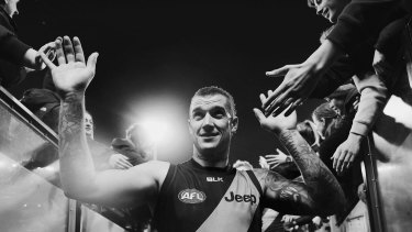 Dusty's explosive playing style and work ethic have made him a favourite with long-suffering Richmond fans.