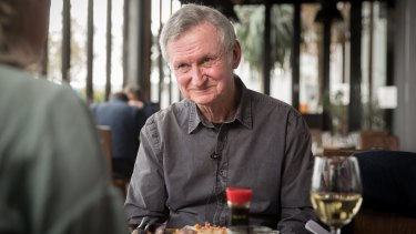 Paul Jennings has been on a 'lifelong journey of helping kids to read in one way or another'.