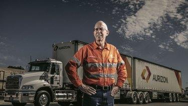 Aurizon CEO Lance Hockridge, the rail group is still targeting an operating ratio.