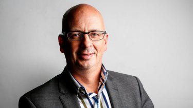 Former editor in chief of The Age, Mark Forbes, who resigned on Monday morning.