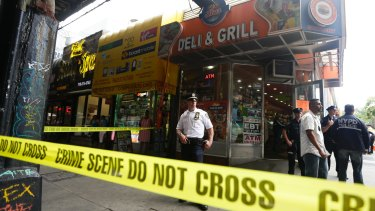 More than two dozen people fell ill in the apparent mass drug overdose on a Brooklyn street corner in July.