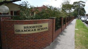 Boys from Melbourne boys' school Brighton Grammar created a 'young sluts' Instagram account.