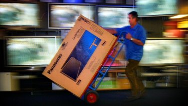 Electronics retailer Harvey Norman says sales were up 7.1 per cent in the September quarter.