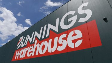 Bunnings plans to open 70 stores over the next few years.