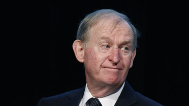 It was David Murray as CBA chief executive who paid $9 billion to buy Colonial Mutual 17 years ago.