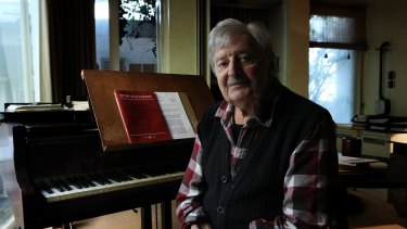 The concert will include pieces by Australian composer Peter Sculthorpe.