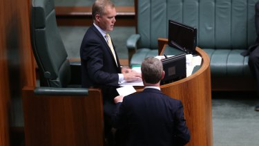 Incumbent speaker Tony Smith. The position brings significant prestige and a big pay cheque.