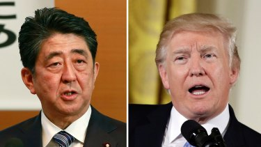 Japanese Prime Minister Shinzo Abe and US President Donald Trump spoke at the start of the month and agreed to take further action against North Korea following its latest missile launch.