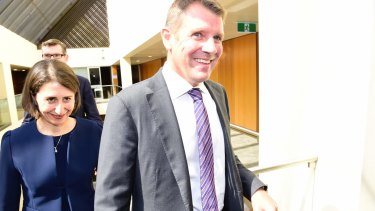 Gladys Berejiklian became Premier after Mike Baird's shock resignation.