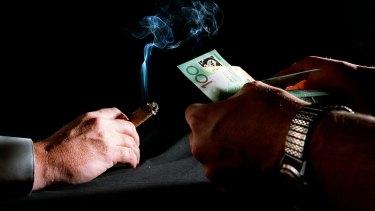 Australia's anti-corruption regime is under-resourced.