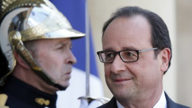 Francois Hollande's office branded as unacceptable reported spying by the United States himself and former presidents.