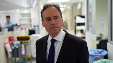 Health Minister Greg Hunt says requiring people to get a prescription for painkillers such as codeine will help curb rates of addiction.