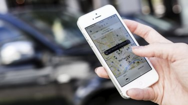 Uber will have dedicated drop-off and pick-up zones at Flemington Racecourse.