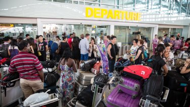 Airlines will have to clear a backlog of travellers stranded after volcanic ash again shut down air travel.