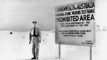 THE BIG PICTURE Security was tight at Maralinga but it did not prevent health problems for those who witnessed the tests.