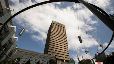 UTS Building 15 in Ultimo is an example of Sydney's Brutalist architecture