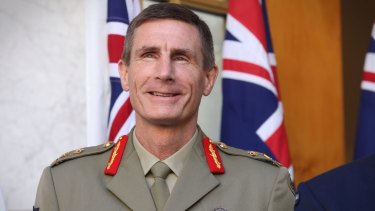 Chief of Army Angus Campbell.