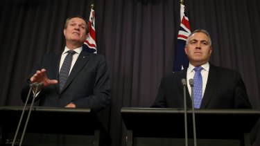 Tax Commissioner Chris Jordan and former treasurer Joe Hockey worked closely on domestic laws aimed at stopping multinational profit shifting.