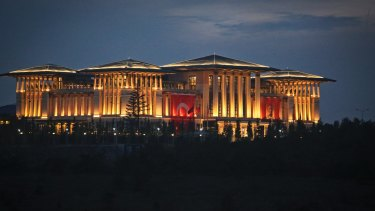 The Turkish presidential complex, officially opened in 2014, has given concrete form to fears of an Erdogan power grab.