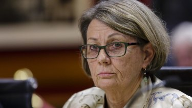 Megan Latham resigned as ICAC commissioner after the agency was restructured.