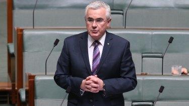 Tasmanian independent MP Andrew Wilkie.