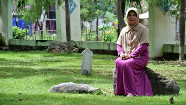 Syarifa Fatimah Zuhra, who lost her son in the 2004 Boxing Day tsunami.