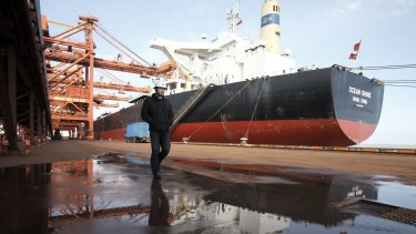 Australia's top commodity port has set a new monthly record for iron ore exports.