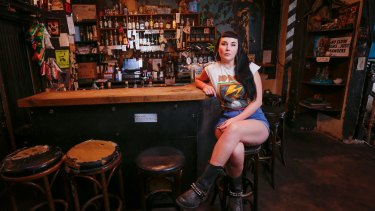 Knock it off: six months ago, Kent St Bar manager Rose Gaumann started a campaign to encourage bar patrons to alert staff of any harassment.