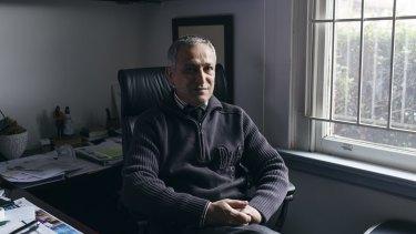 Lebanese GP Jamal Rifi in his Belmore office.