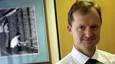 Surprised: Investec analyst Hunter Hillcoat.