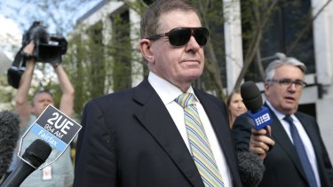 Investigation closed: Former parliamentary speaker Peter Slipper.