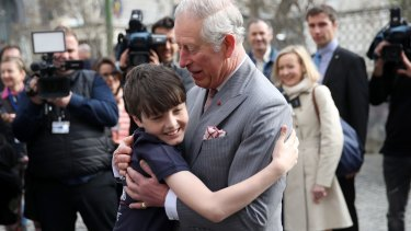 Prince Charles has known Valentin Blacker since the boy was a toddler.