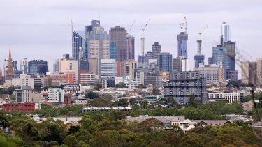 Inner-city commercial property values rose more than most.