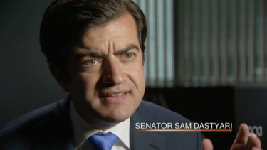 "Senator Sam Dastyari: ""The business model is built around 'We will allow you to engage in practices for a small fee that would otherwise be illegal in your host country'."""
