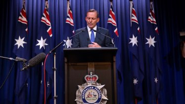 Prime Minister Tony Abbott.  Photo: Andrew Meares