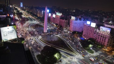 Movement in Buenos Aires: Argentina switched to an open primary election system in 2011.